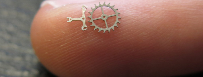 Exemple de pièce brusselle en micro découpe laser de haute précision